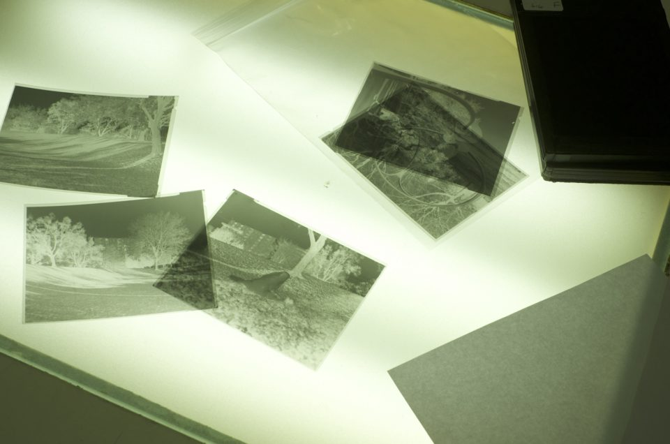 Retour sur l'atelier chambre photographique 4×5
